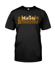 Beergetarian Classic T-Shirt front