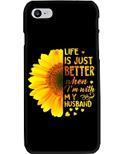 LIFE BETTER WITH SUNFLOWER Phone Case thumbnail