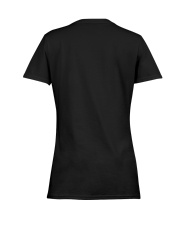 LIFE BETTER WITH SUNFLOWER Ladies T-Shirt women-premium-crewneck-shirt-back