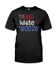 RED WHITE AND BOOZE Classic T-Shirt thumbnail
