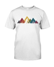 RAINBOW MOUNTAIN Classic T-Shirt front