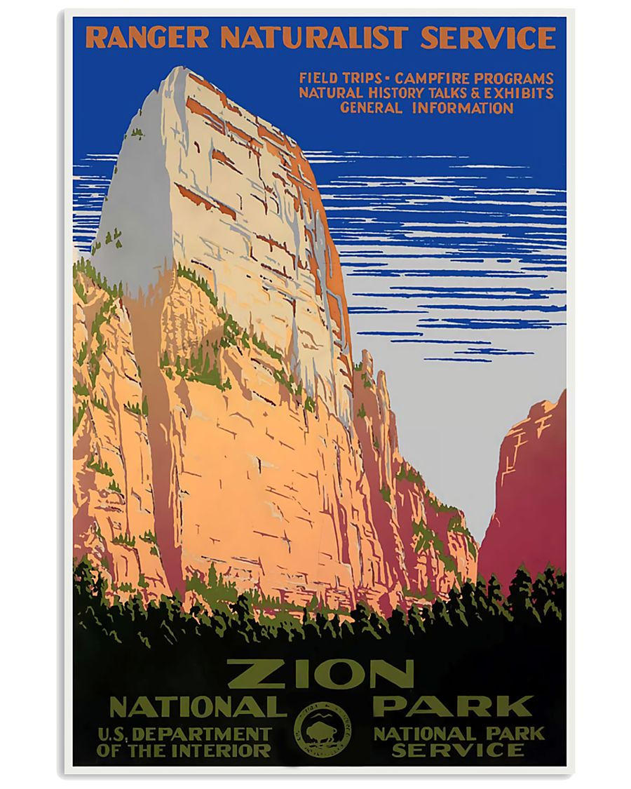 ZION NATIONAL PARK 11x17 Poster