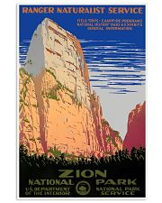 ZION NATIONAL PARK 11x17 Poster front