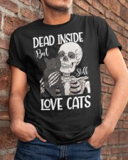 Love cats 2 Classic T-Shirt apparel-classic-tshirt-lifestyle-26