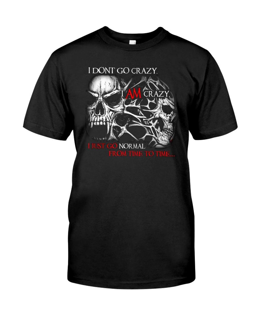 I AM CRAZY SKULL T-SHIRT  Classic T-Shirt