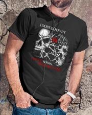 I AM CRAZY SKULL T-SHIRT  Classic T-Shirt lifestyle-mens-crewneck-front-4