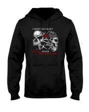 I AM CRAZY SKULL T-SHIRT  Hooded Sweatshirt thumbnail