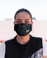 It's A Beautiful Day To Save Lives LPN Cloth Face Mask - 3 Pack aos-face-mask-lifestyle-03