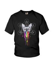 RAINBOW SPHYNX CAT Youth T-Shirt thumbnail