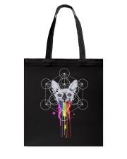 RAINBOW SPHYNX CAT Tote Bag thumbnail