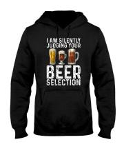 I'M SILENTLY JUDGING YOUR BEER SELECTION Hooded Sweatshirt thumbnail