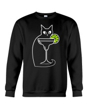 DAIQUIRI COCKTAIL CAT Crewneck Sweatshirt thumbnail