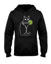 DAIQUIRI COCKTAIL CAT Hooded Sweatshirt tile