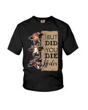 DID YOU DIE Youth T-Shirt thumbnail