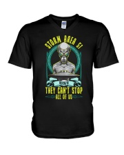 THEY CAN'T STOP ALL OF US V-Neck T-Shirt thumbnail