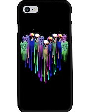 COLOR HEART SKULL Phone Case thumbnail