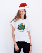 INTO THE FOREST T-SHIRT Classic T-Shirt lifestyle-holiday-crewneck-front-1
