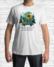 INTO THE FOREST T-SHIRT Classic T-Shirt lifestyle-mens-crewneck-front-1