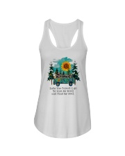 INTO THE FOREST T-SHIRT Ladies Flowy Tank thumbnail