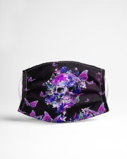 Skull - Floral - 6 Cloth face mask aos-face-mask-lifestyle-22