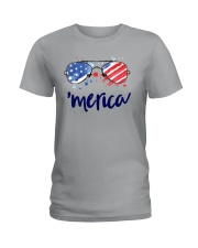 Great shirt for Independence Day Ladies T-Shirt thumbnail