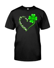 Beer and shamrock Classic T-Shirt front