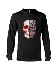 Blood stains Long Sleeve Tee thumbnail
