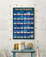 SKI RESORTS POSTER 16x24 Poster lifestyle-holiday-poster-3