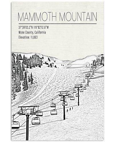 MANMOTH MOUNTAIN POSTER