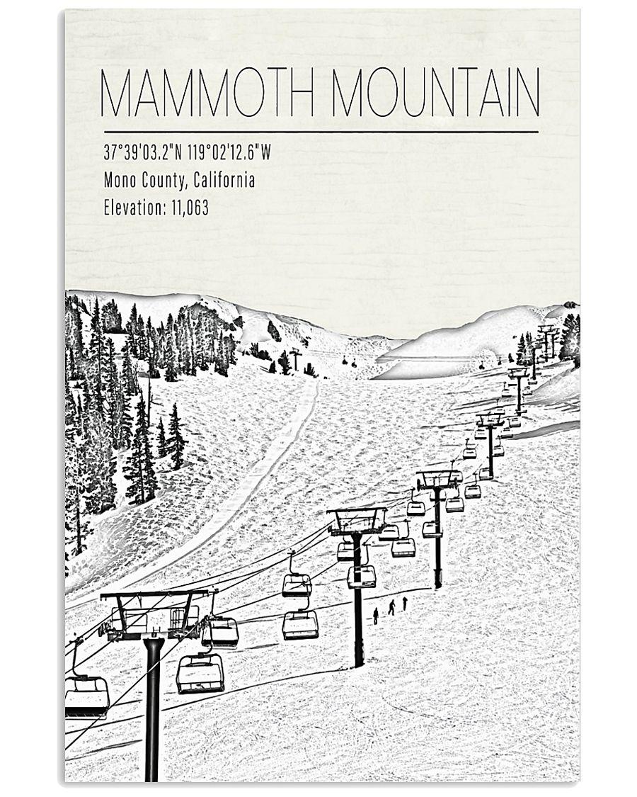 MANMOTH MOUNTAIN POSTER 16x24 Poster