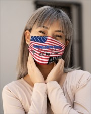 American By Birth RN By Choice Nurse Cloth Face Mask - 3 Pack aos-face-mask-lifestyle-17