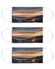 Great smoky mountains  Cloth Face Mask - 3 Pack front
