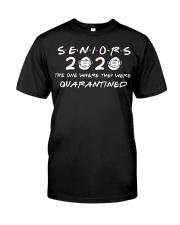 SENIORS 2020 T-SHIRT Classic T-Shirt front