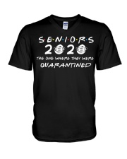 SENIORS 2020 T-SHIRT V-Neck T-Shirt tile