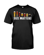 SIZE MATTERS Classic T-Shirt front