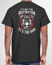 IT'S THE RIDE Classic T-Shirt garment-tshirt-unisex-back-04