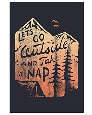 LET'S GO OUTSIDE AND TAKE A NAP 16x24 Poster front