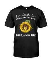 LOAD AIM FIRE Classic T-Shirt front