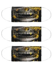 Metal Skull 1 Cloth Face Mask - 3 Pack front