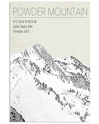 POWDER MOUNTAIN POSTER