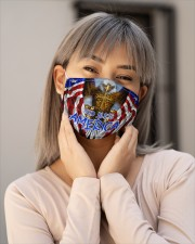 God Bless America Eagle Cloth Face Mask - 3 Pack aos-face-mask-lifestyle-17