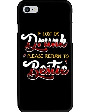 IF LOST OR DRUNK Phone Case thumbnail
