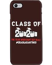 CLASS OF 2020 - GRADUARANTINED Phone Case thumbnail