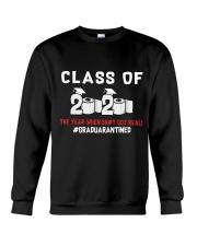 CLASS OF 2020 - GRADUARANTINED Crewneck Sweatshirt thumbnail