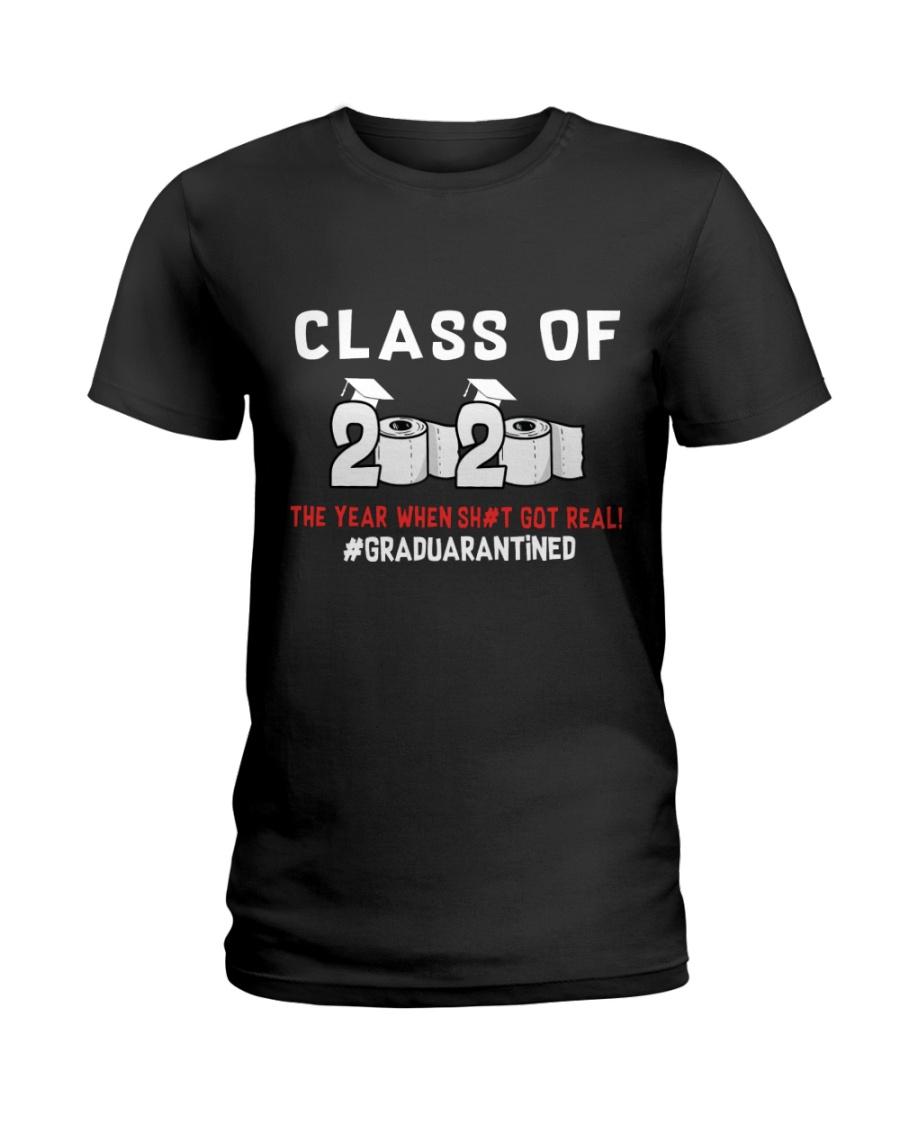 CLASS OF 2020 - GRADUARANTINED Ladies T-Shirt
