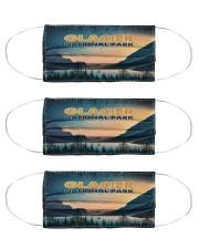 Glacier National park Cloth Face Mask - 3 Pack front