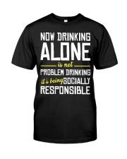 SOCIAL RESPONSIBILITY Classic T-Shirt front