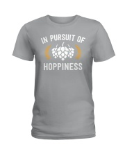 IN PURSUIT OF HOPPINESS  Ladies T-Shirt thumbnail