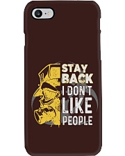 DON'T LIKE PEOPLE T-SHIRT Phone Case tile