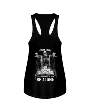 DESIGNED TO BE ALONE T-SHIRT Ladies Flowy Tank thumbnail